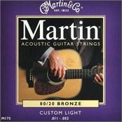Martin Bronze 11-52 gauge strings