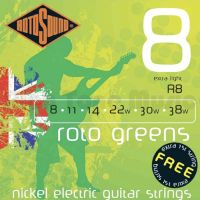Rotosound Green 8-38 gauge strings